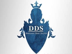 dominant door logo